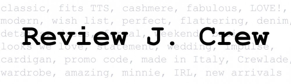 Review JCrew