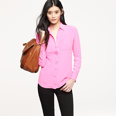 068ea942ba565a Blythe blouse in heavyweight silk $198.00 item 59569 | Review JCrew